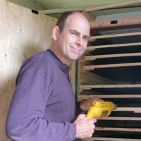 Mason Bee expert Dave Hunter